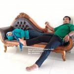 Sofa Ukir Jepara Motif Anggur