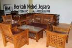 Kursi Tamu Minimalis Jokowi Jati