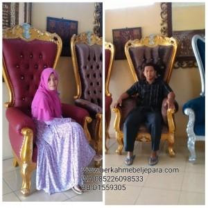 Kursi Ratu Ukir Jepara
