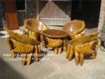 Kursi Teras Kepiting Kayu Solid Trembesi