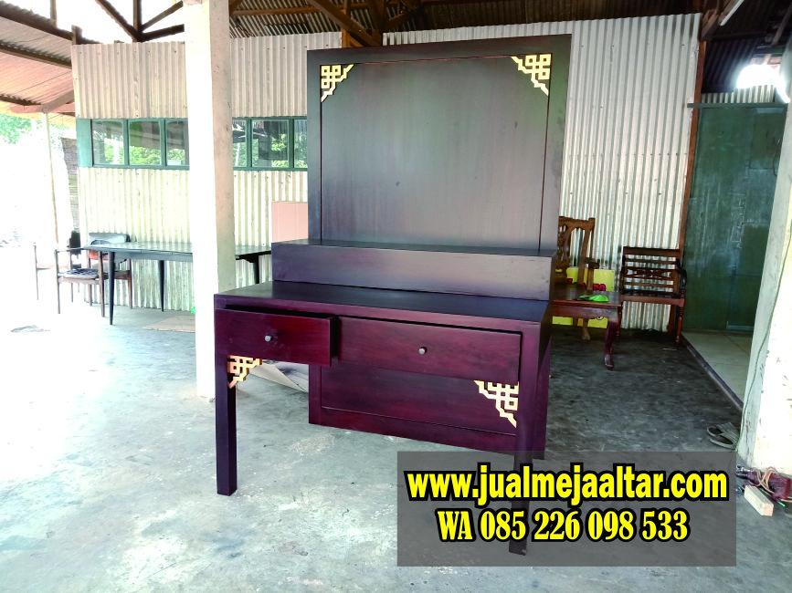 Meja Altar Jati Jepara