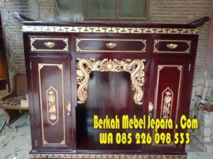 Jual Meja Altar Sembahyang Jati