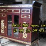 Meja Altar  Sembahyang Leluhur Ukir Kayu Jati