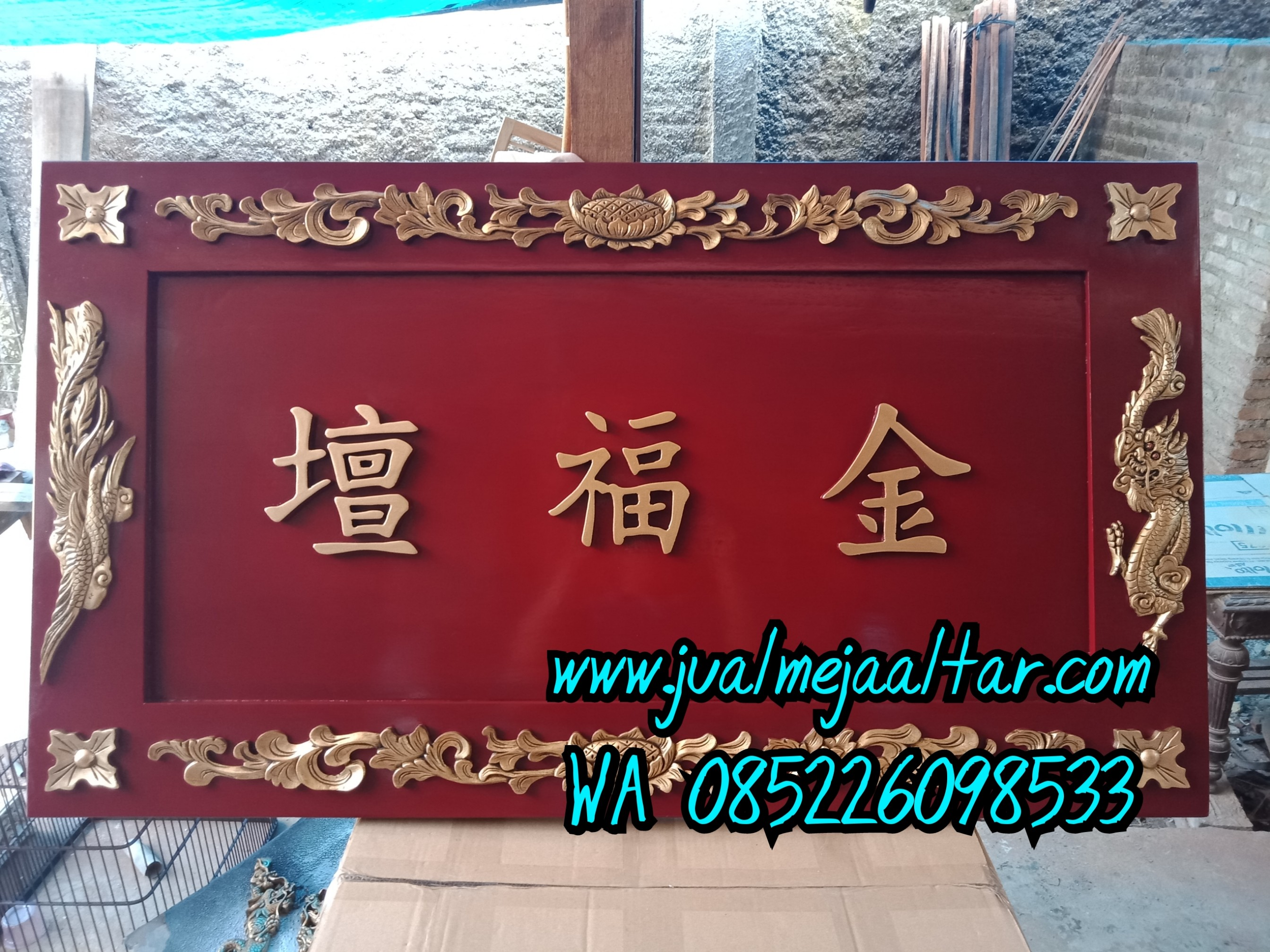 Jual Papan Nama China