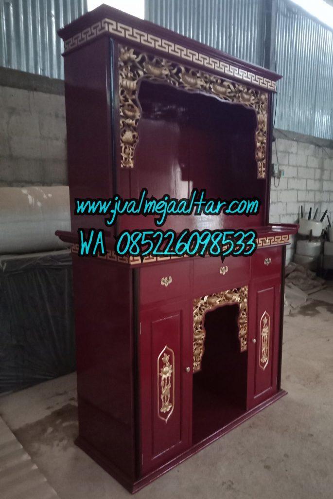 ukuran tinggi meja altar sembahyang leluhur