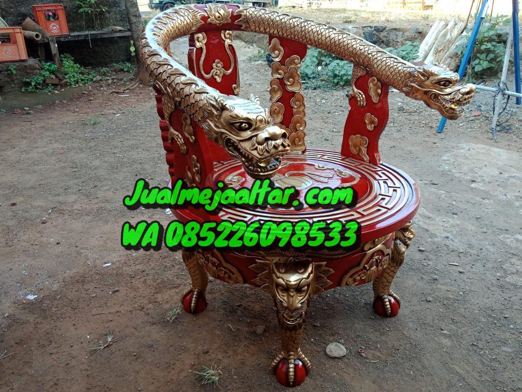 kursi Ukir Naga pekong